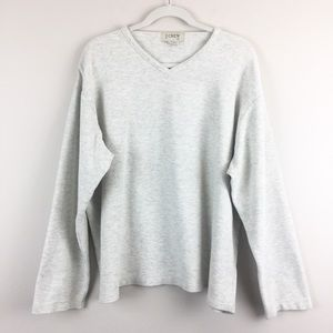 J Crew 100% Cotton Thermal Long Sleeve